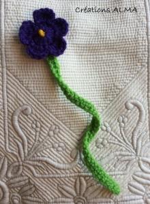 Fleur de champs mauve